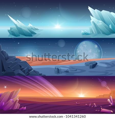 fantastic alien planet