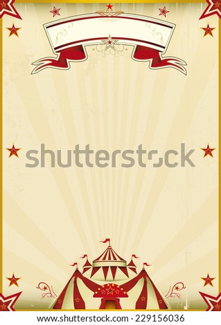 fantastic brown circus vintage. ...