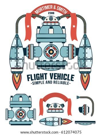 fantastic flying machine as a