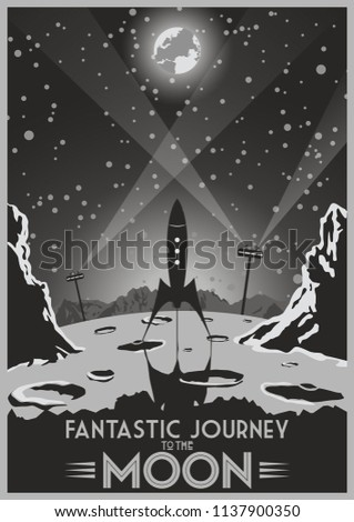 fantastic journey to the moon