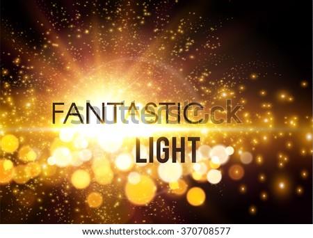 fantastic light shining