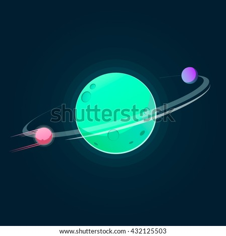 fantastic planets and satellites