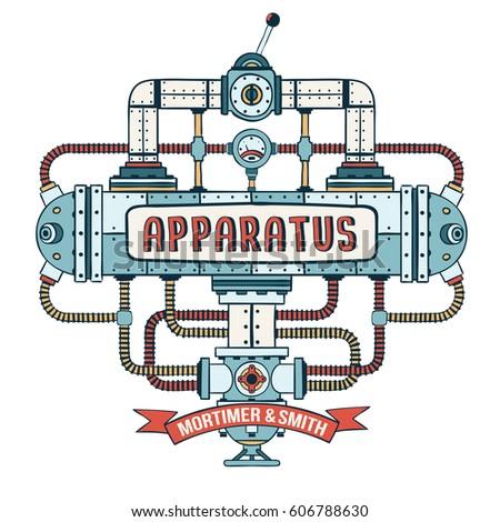 fantastic steampunk apparatus