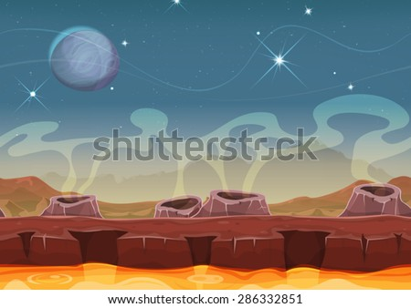 fantasy alien planet desert
