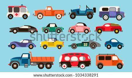 Fantasy Cartoon Cars