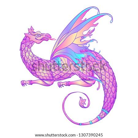 fantasy creature dragon