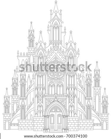 fantasy drawing of medieval
