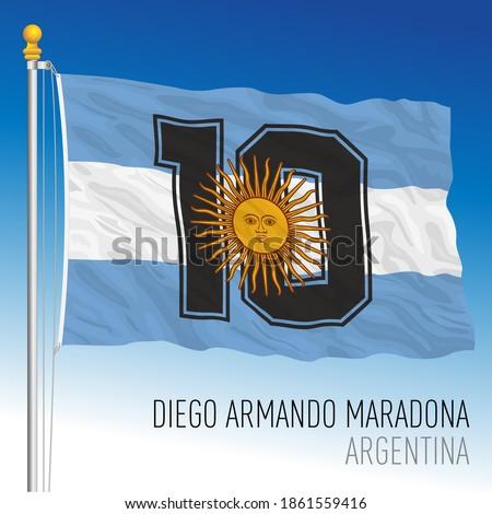fantasy flag of diego armando