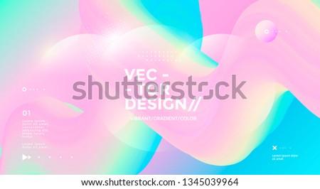 fantasy gradient backdrop with