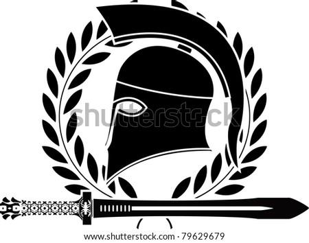 Helmet Sword Hellenic Sword And Helmet