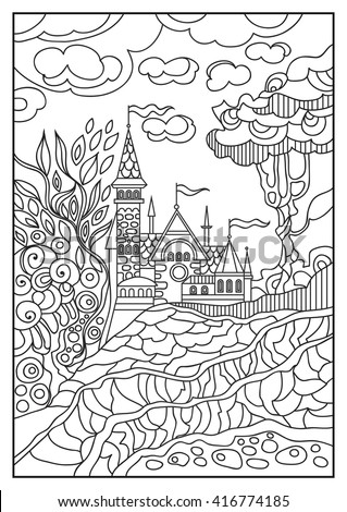 fantasy landscape fairy tale