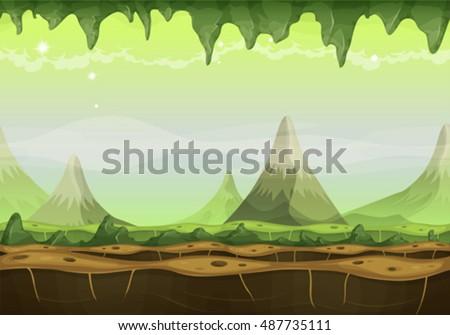 fantasy sci fi alien landscape