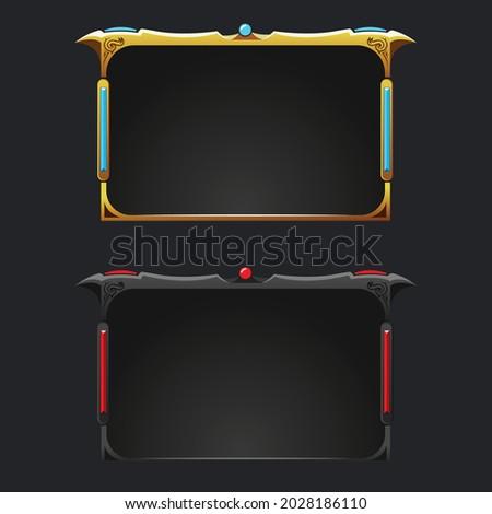 fantasy style gaming facecam