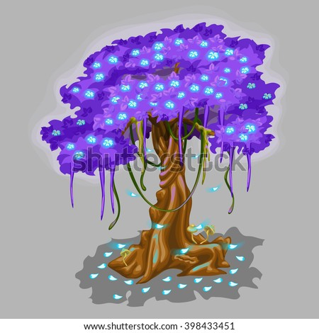 fantasy tree with a spreading