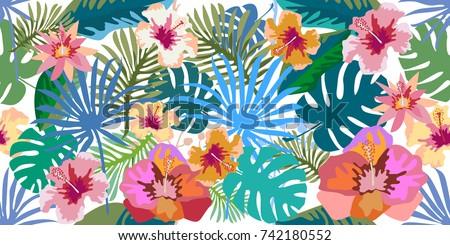fantasy tropical paradise