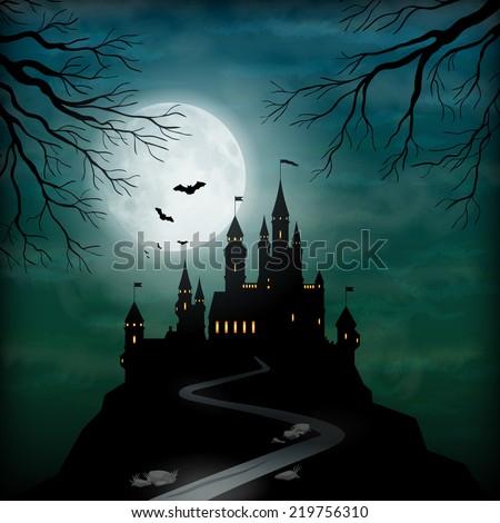 fantasy vector castle