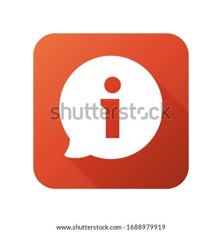 Faq icon. Question mark vector icon. Information sign icon.