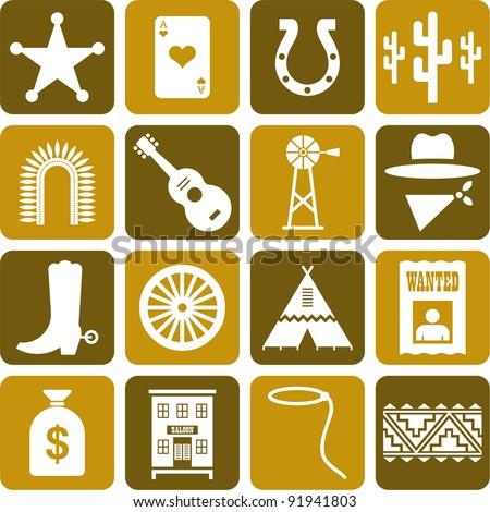 far west's pictograms