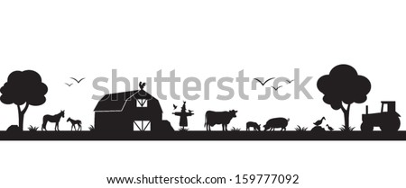 Farm Clipart, Coloring Pages, And Other Free Printable Design Themes