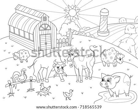 Coloring Page Animal Vectors Download Free Vector Art Stock