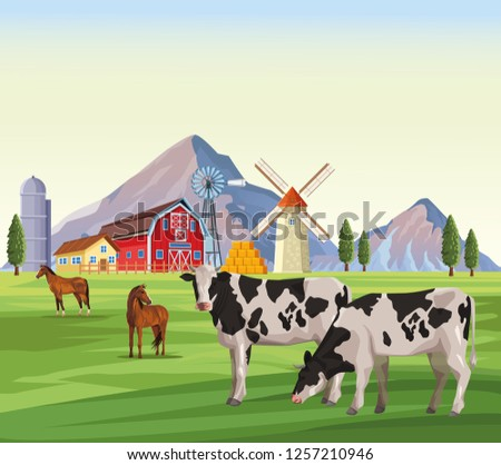 farm animals cartoons