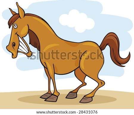 Farm animals: Horse