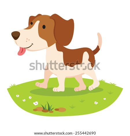 farm dog cheerful dog