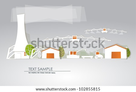 "Farm, green houses and harvest ""White city"" collection"