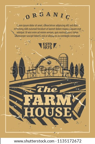 farm house for organic products