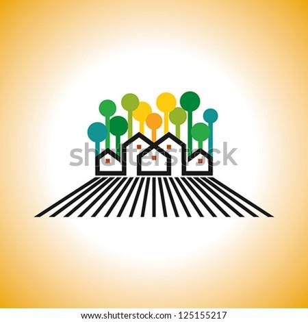 farm house vector