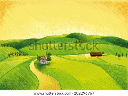 Farm in the Green