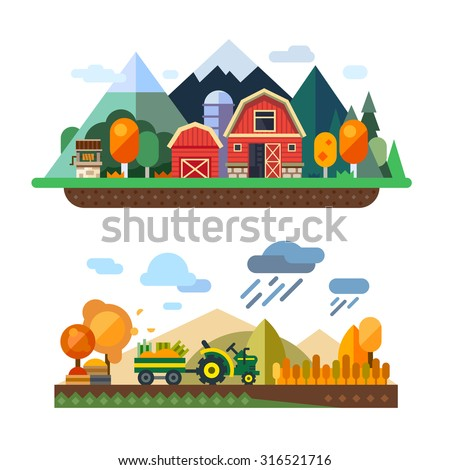 farm life  natural economy