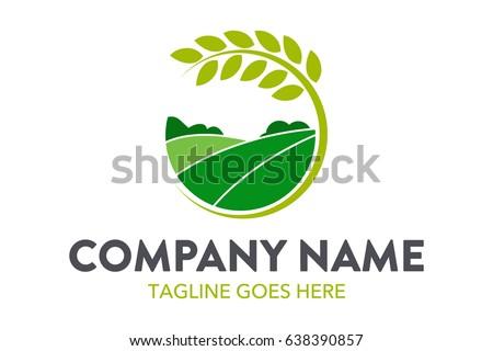 Farming Logo Template