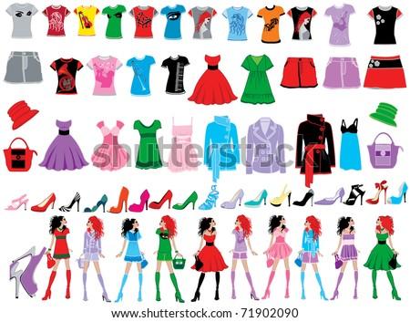 stock vector : Fashion