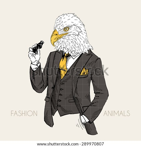 fashion animal illustration