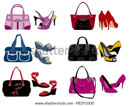 Fashion bags and shoes