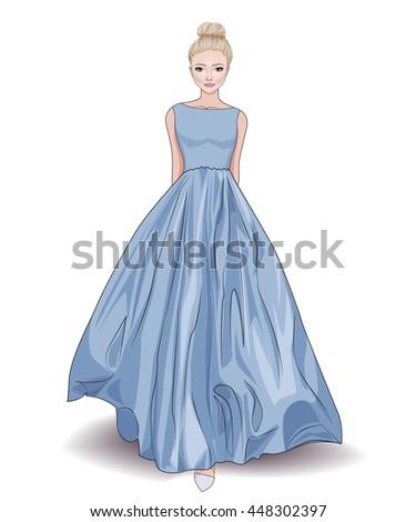 fashion beautiful illustration