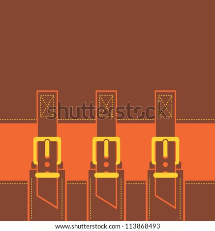 fashion buckle background vector illustration eps 10