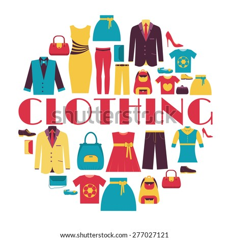 fashion clothing circle