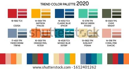 fashion color trend winter 2019