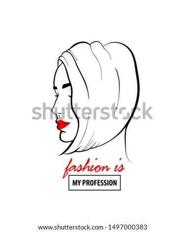 Pop Art Fashion Sketch