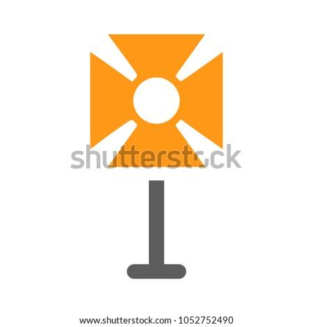 fashion equipment light icon