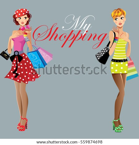 fashion girls  my shopping