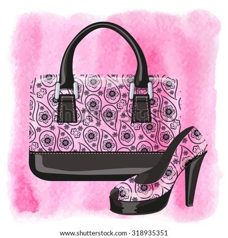 wallpaper purse heels - photo #18