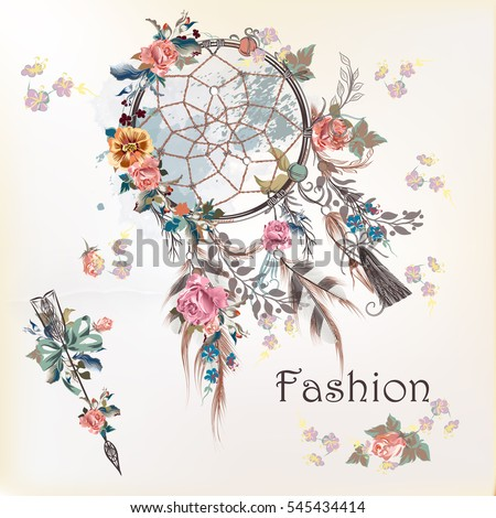 fashion illustration with dream
