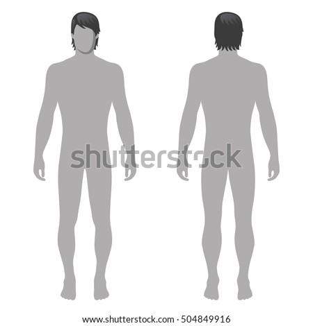 fashion man full length