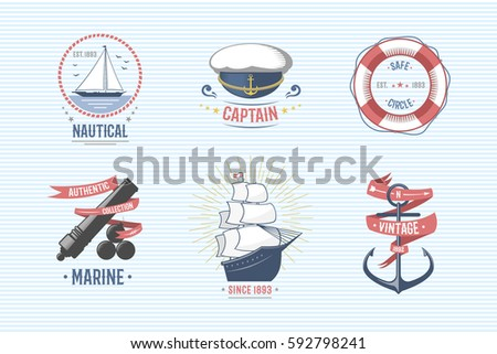 fashion nautical and marine