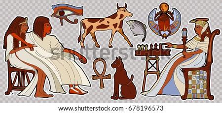 fashion patch ancient egypt
