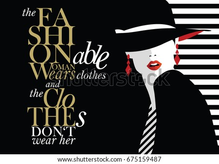fashion quote with fashion