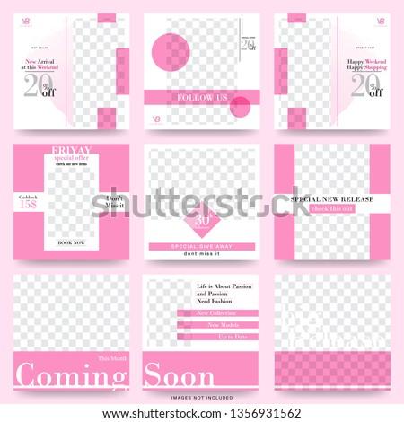 Fashion Sale Social Media Modern Design Template #1356931562